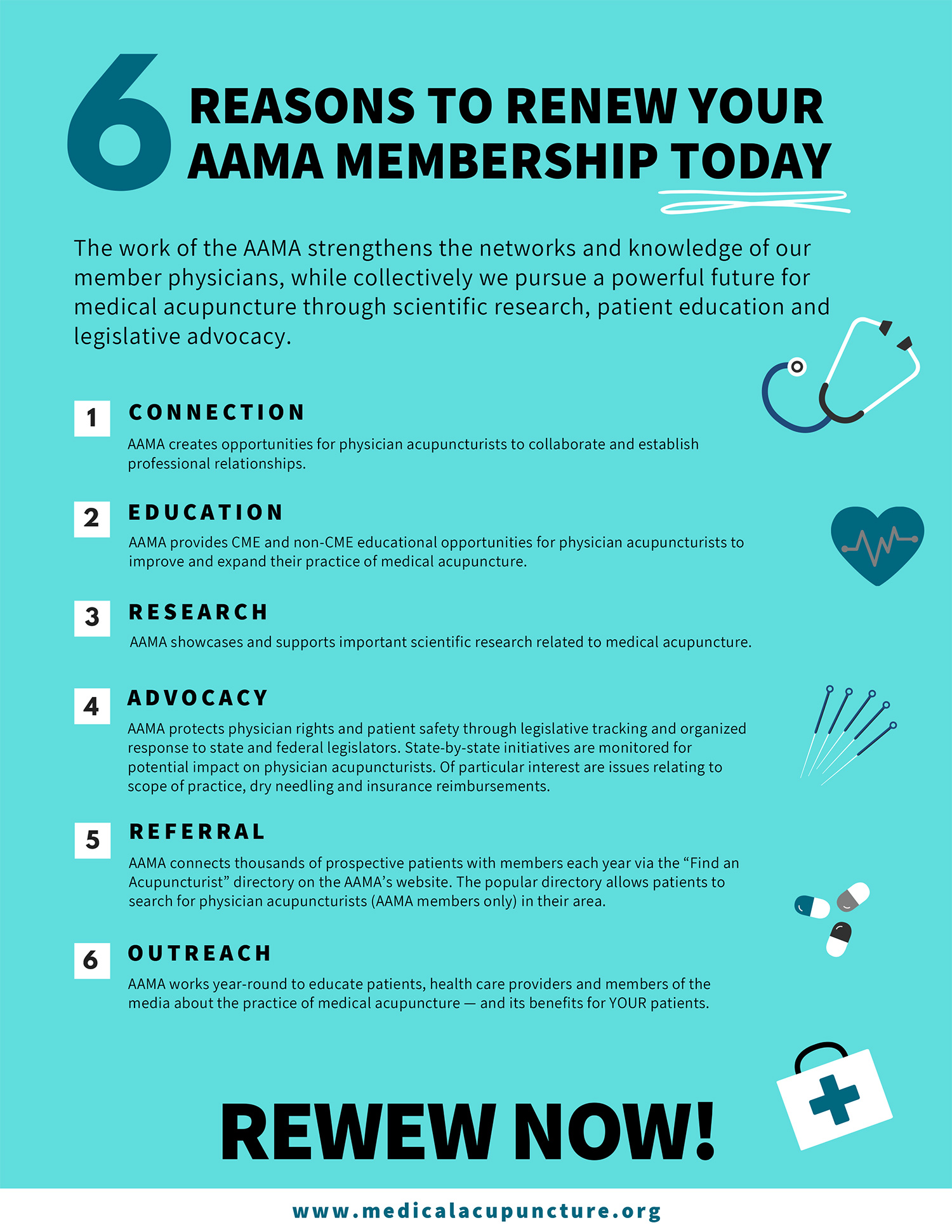 Reasons to renew your AAMA membership