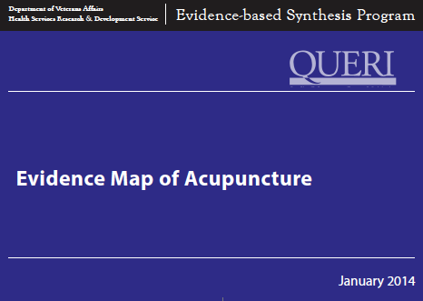 VA Evidence Map of Acupuncture